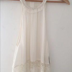 (NWT) Free People Ivory Lace Dress